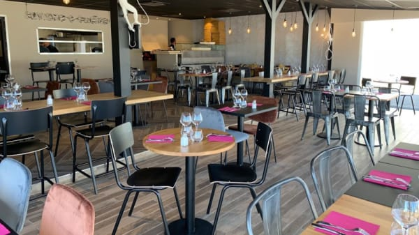 Salle du restaurant - Margott, Chassieu