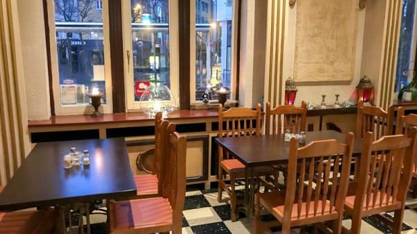 Vue de l'intérieur - Restaurant Athena, Antwerp