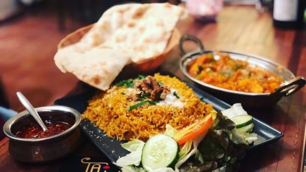 Geschirrvorschlag - Taj - Indian Restaurant & Bar, Wien