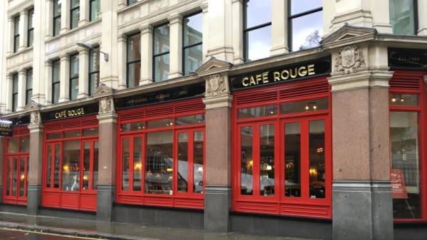 Restaurant - Café Rouge - St Pauls, London