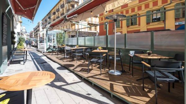 Terrasse - Galia Nice, Nice