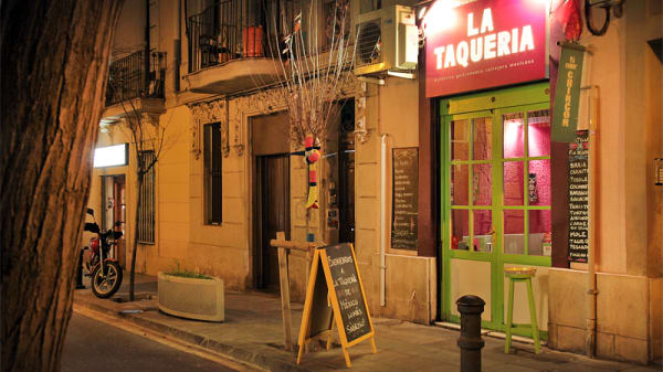 Fachada - La Taquería Passatge de la Font, Barcelona