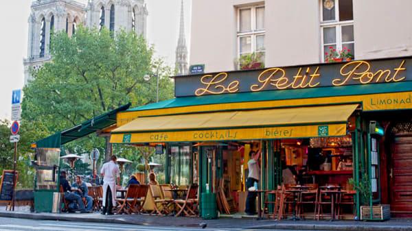 Devanture de l'établissement - Le Petit Pont, Paris