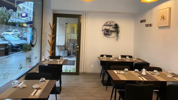 Salle - Maru Sushi, Genève