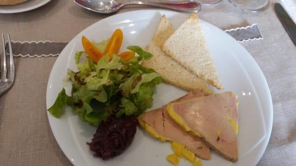 foie gras - Hôtel- restaurant Saint-Benoit, Gueugnon