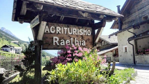 Entrata - Agriturismo Raethia, Degola