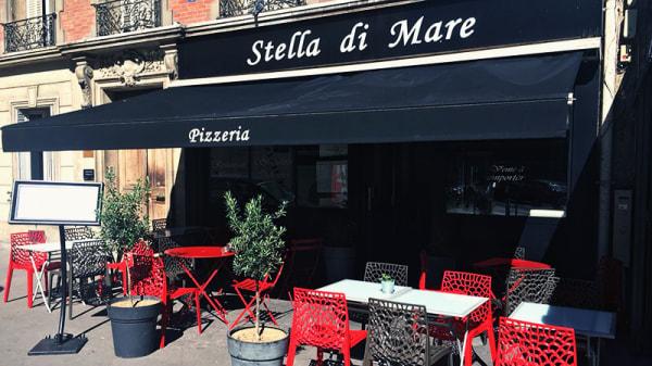 Vue de la terrasse - Stella di Mare, Paris