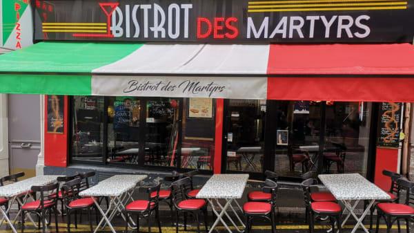 Le Bistrot des Martyrs, Paris