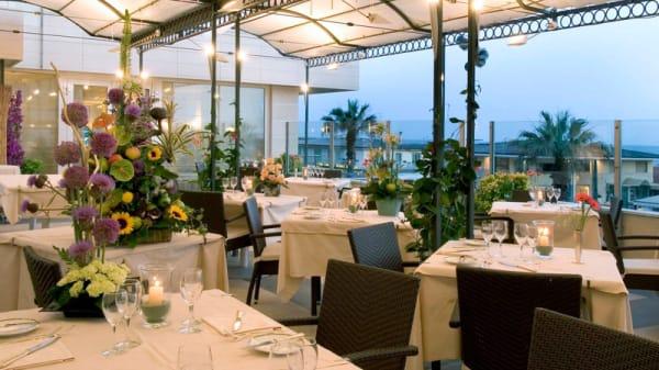 Terrazza ristorante La Conchiglia mare - Astor La Conchiglia, Viareggio