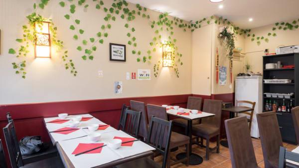 Salle du  restaurant - Gastronome d'Orient, Paris