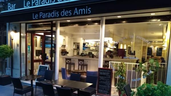 terrasse - Le Paradis des Amis, Paris