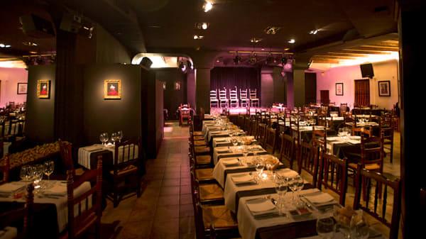 Sala del restaurante - La Bulería - Tablao Flamenco, Valencia