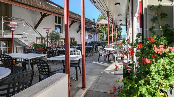 Terrasse - Auberge de la Charrue, Romanel-sur-Lausanne
