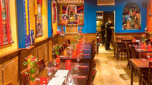 restaurantzaal - Tashi Deleg, Ámsterdam