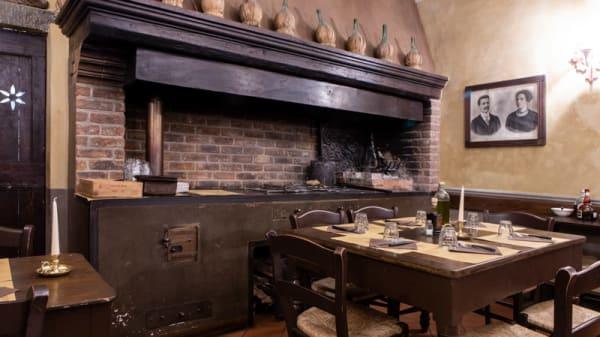 Vista sala - Trattoria Casa Toscana, Florence