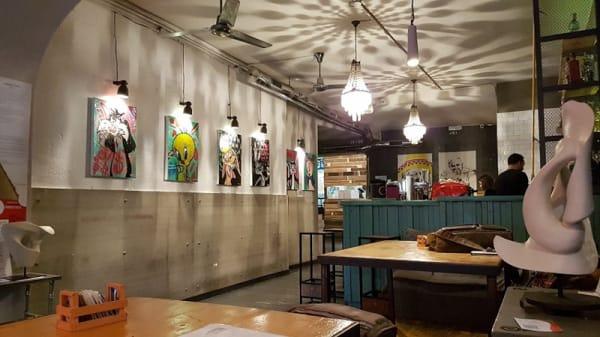 Vista sala - Analemma Cafe, Roma