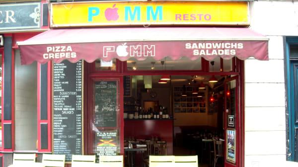 Entrée - Pomm restaurant, Paris