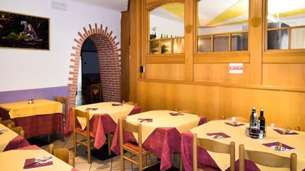 Vista della sala - Ristorante Pizzeria Roma, Mezzolombardo
