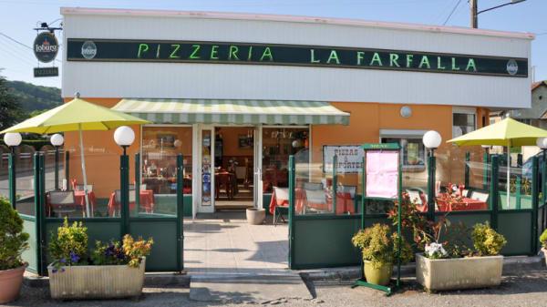 Pizzeria la FARFALLA - Pizzeria La Farfalla, Eu