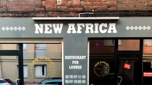 Entrée - New Africa, Rouen