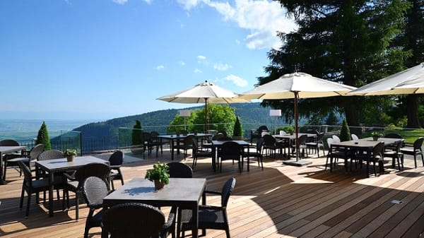 La terrasse - Grand Hôtel des Rasses - Restaurant Belle Epoque, Les Rasses