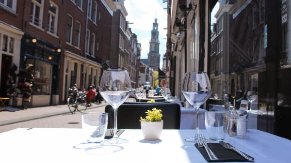 Our terrace with the view  - Assaggi, Amsterdam
