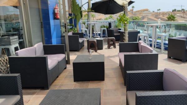 Terraza exterior  - Margio Food&Drinks, Torrevieja
