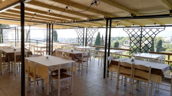 Vista terrazza - Santa Agata, Guardistallo