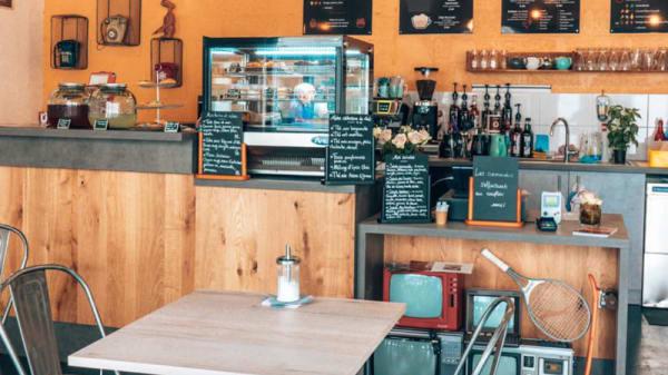 Vue de la salle - My Hometown Cafe, Rouen