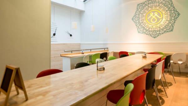 Vue table - MoMo, Ixelles