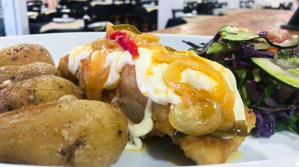 especialidade do chef - Restaurante Mel e Pimenta, Gandra