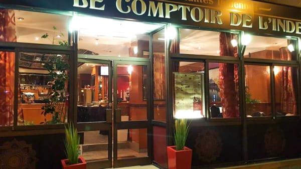 Entrée - Le Comptoir de l'Inde, Angers
