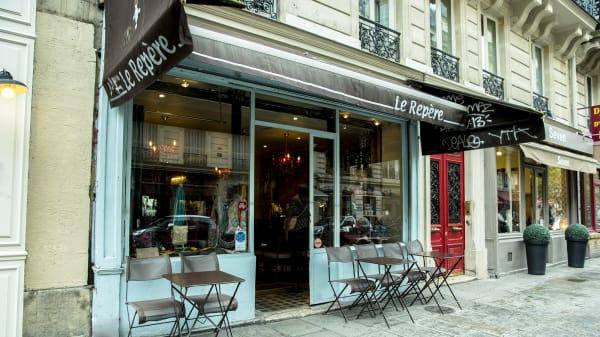 Devanture - Le Repère, Paris