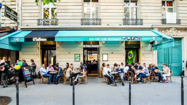 Terrasse extérieure - O Sullivans Franklin D Roosevelt, Paris