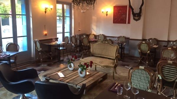 Salle du restaurant - Le Coq, La Garenne-Colombes