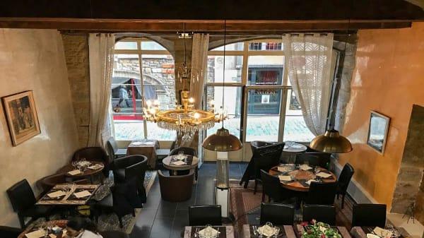 Salle du restaurant - Le touareg, Lyon