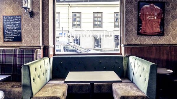Restaurangens rum - The Queen, Göteborg