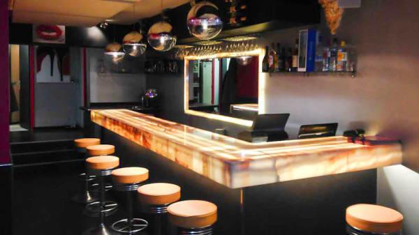 Vue côté bar - L'Amoroso, Aix-en-Provence
