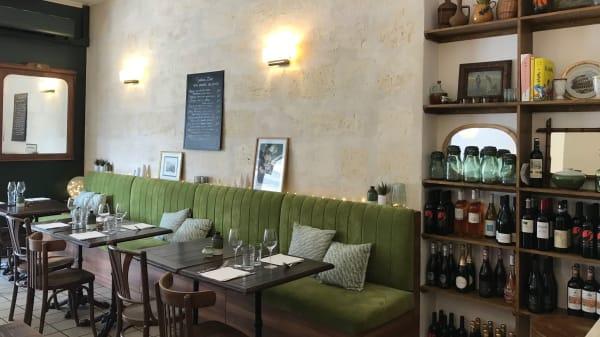 Vue de la salle - Cantina Lino, Bordeaux