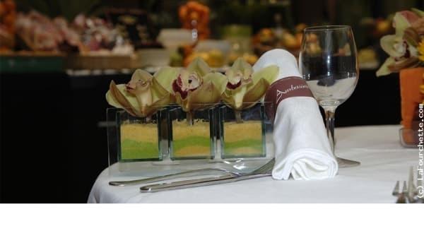 Table dressée - L'Ambassador - Hôtel Mercure Antigone, Montpellier