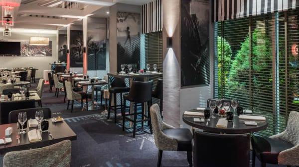 Le M22 : Salle du restaurant - Le M22 Vélizy, Vélizy-Villacoublay