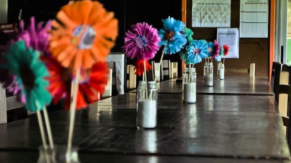 Vista mesa - La Fonda de Liserar, Ituzaingó