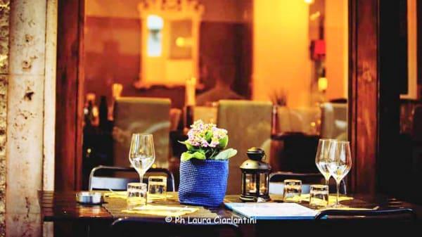 Vista del tavolo - Sale Vino & Cucina, Rome