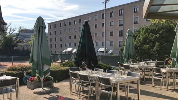Terrasse - Restaurant Tennis Club Lancy, Petit-Lancy