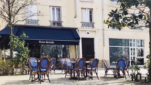 Devanture - Rive Droite Café, Levallois-Perret