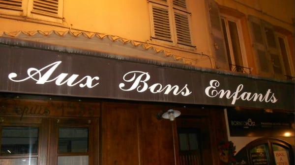 Restaurant - Aux Bons Enfants, Cannes