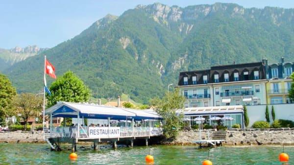 Façade - L'Oasis - Villeneuve Montreux, Villeneuve
