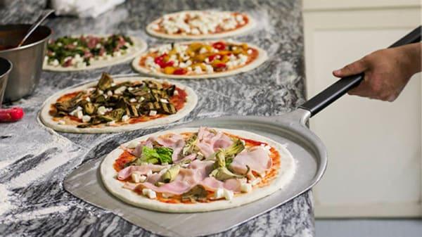 Vista cocina - Tío Pizza, Señor Spaghetti, Palma de Mallorca