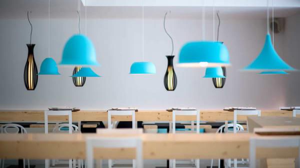 Vista sala - Whiteluna Restaurant&Lounge Bar, Setti Ballas