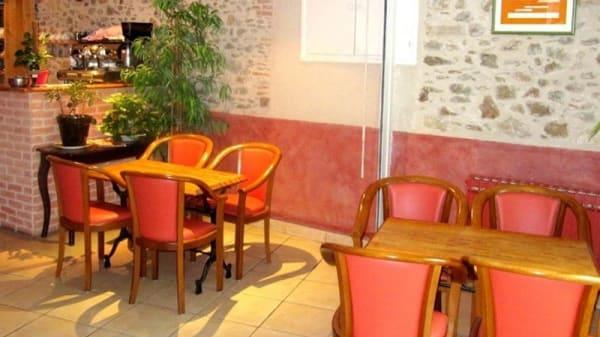 Vue de la salle - Hôtel-restaurant de la Montagne Noire, Dourgne